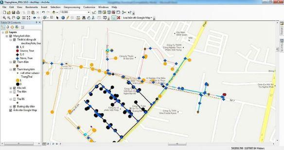 Chạy Google Maps trong cửa sổ ArcGIS | Nguyễn Đức Thuận